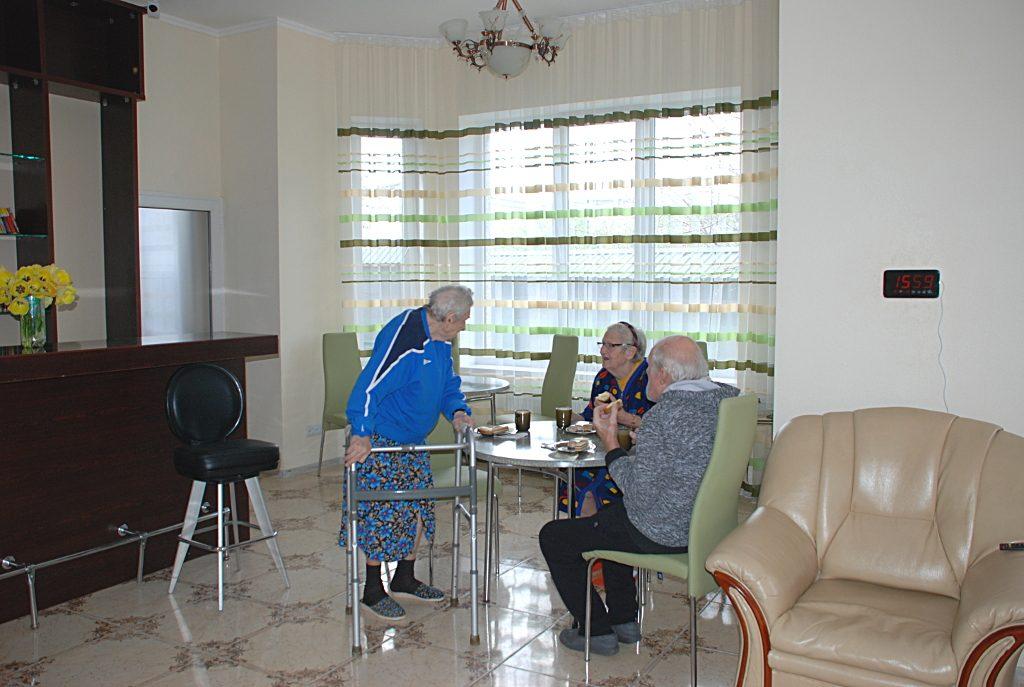 Дом престарелых в Одессе